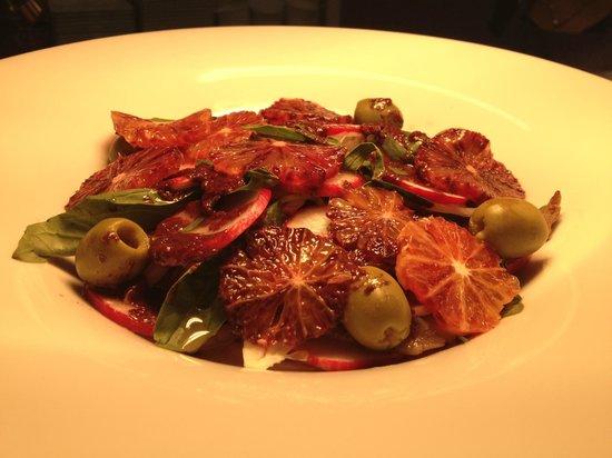 VIVA BRAZIL Prahran: Blood orange and radish salad