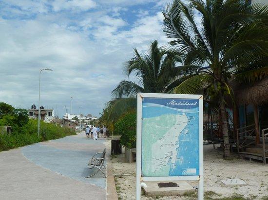 Mahahual Beach: The Malecon
