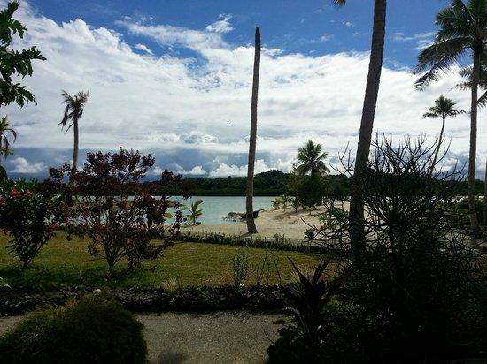 Aquana Beach Resort : View from waterfront bungalow