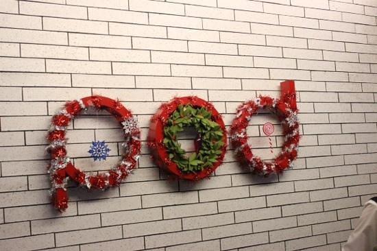 Pod 39 Hotel : pod christmas