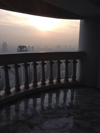 Tower Club at Lebua : View from balcony (57)