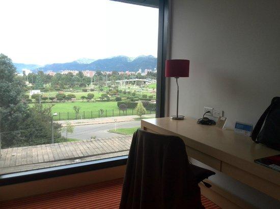 TRYP Bogota Embajada : VISTA