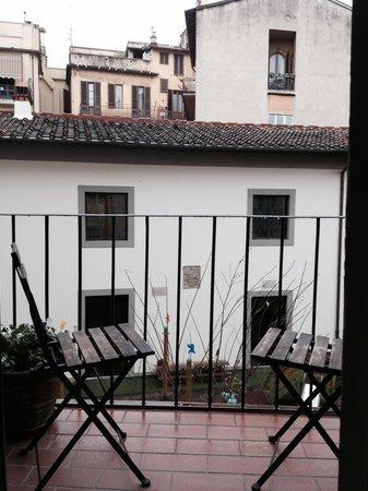 Residenza Johanna I: Stanza num 3 (balcone)