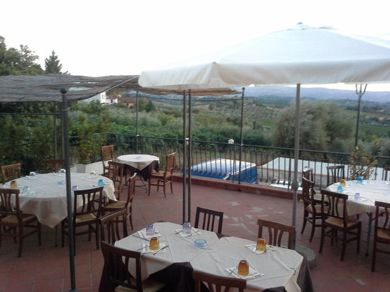 Montespertoli, Italia: osteria sei bellissima! !!