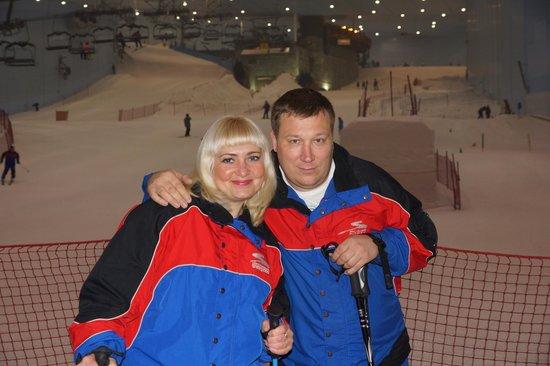 Ski Dubai: мы