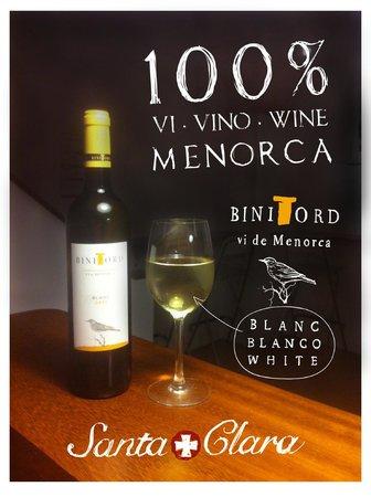 Santa Clara: 100% Menorca vi·vino·wine