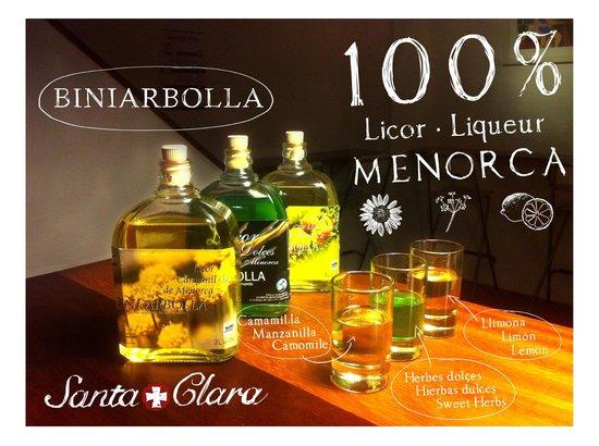 Santa Clara: 100% Menorca Licor · Liqueur