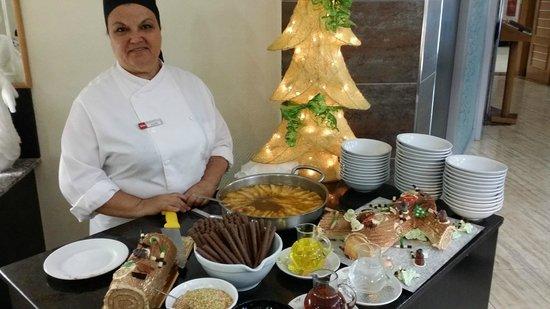 Hotel Riu Don Miguel: Weihnachtsbüffet