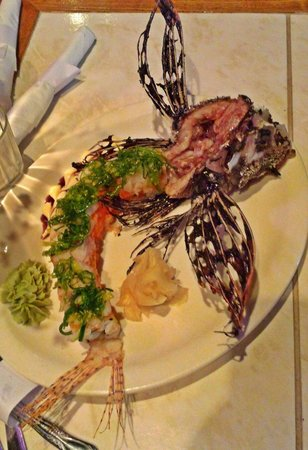 Castaway Waterfront Restaurant & Sushi Bar : Lion Fish...King of the Jungle.
