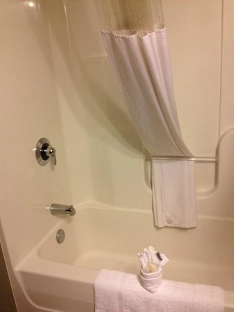 Home Towne Suites - Bentonville: bathroom
