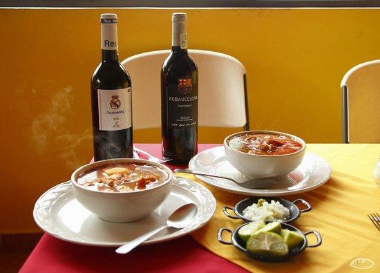 Manolo Paellas: Comida y vinos españoles