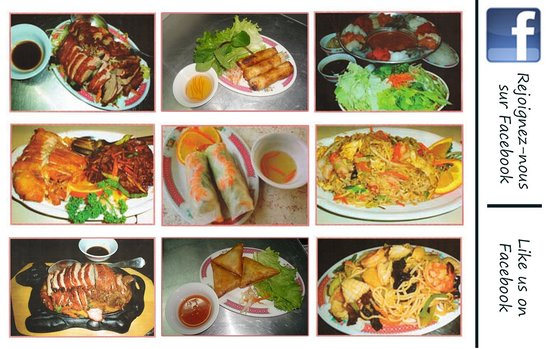 Restaurant Cam Ranh Bay : Quelques plats / Some dishes