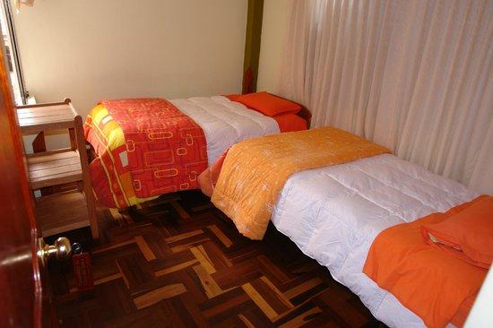 Hostal Casa del Inka: 2 camas