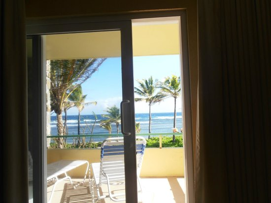 The Palms at Pelican Cove : view from inside the room