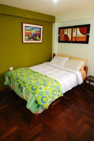 Hostal Casa del Inka: matrimonial habitacion