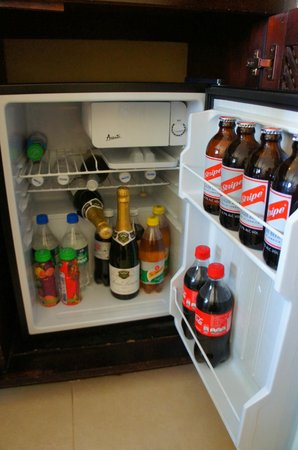 Sandals Montego Bay: fridge