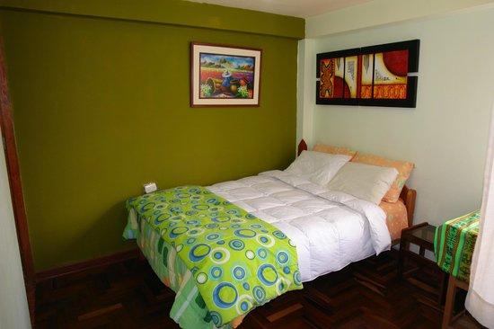 Hostal Casa del Inka: habitacion matrimonial