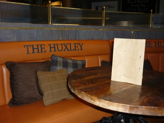 The Huxley: Seating