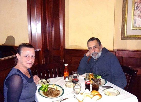 Ben & Jack's Steak House: Eu e minha esposa