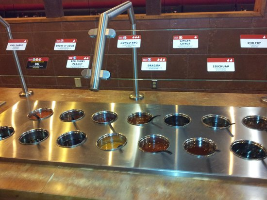 Genghis Grill: Spices