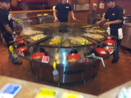 Genghis Grill: Chef's corner