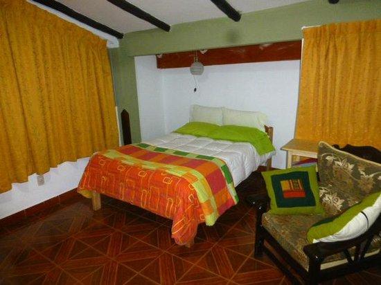 Hostal Casa del Inka: habitacion en la terraza