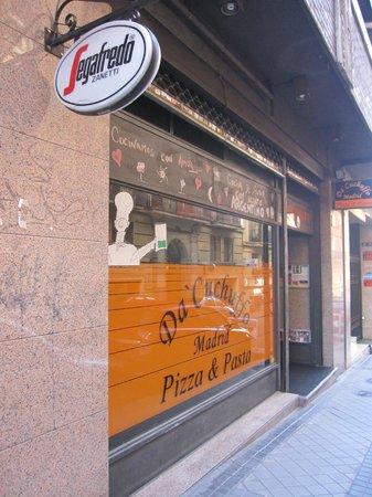 Da Cuchuffo Madrid : Fachada del negocio.