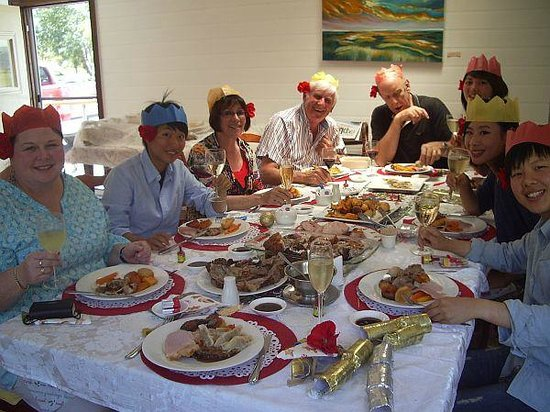 Tranquilles Luxury Spa B&B Guest House: Christmas Lunch table 2013
