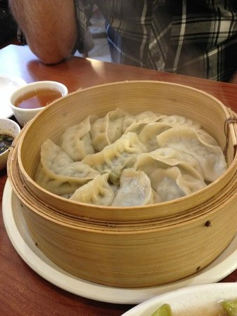 Noodle Factory: vegetable dumplings