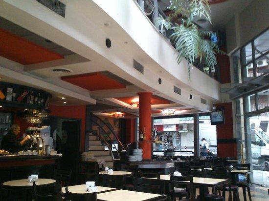 Hotel Lion d'Or: Padaria onde foi oferecido o café da manhã