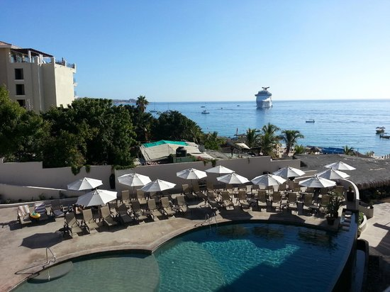Cabo Villas Beach Resort: View from Room 4103