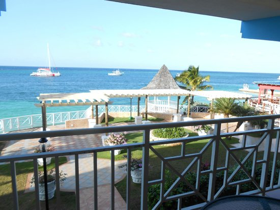 Sandals Montego Bay: View from our room