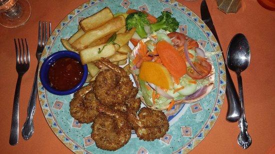 Harlequin Restaurant : Coconut Shrimp