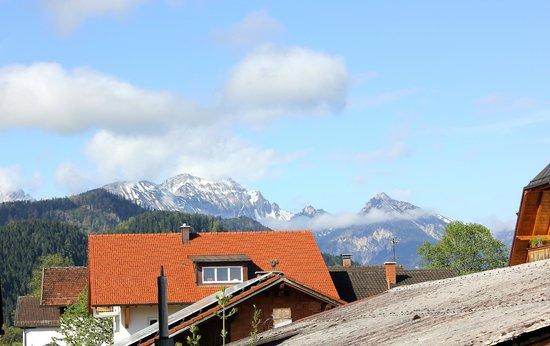 Hotel Weinbauer: вид с балкона