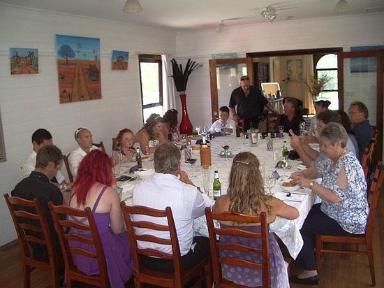 Tranquilles Luxury Spa B&B Guest House : Wedding Meal at Tranquilles