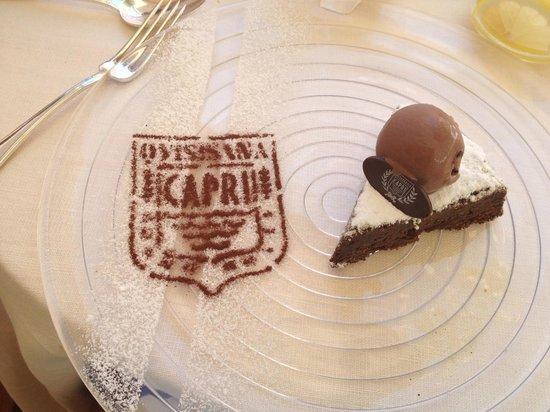 Grand Hotel Quisisana: My dessert