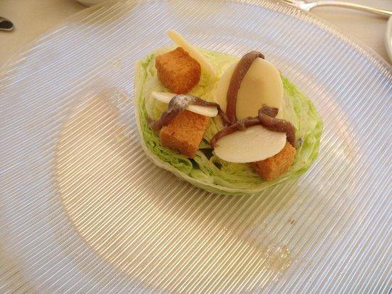 Grand Hotel Quisisana: Caesar Salad