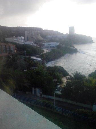 Flamingo Beach Hotel: Mi habitacion con vista al mar