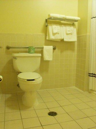 Coos Motor inn : Room 102 - accessible bathroom