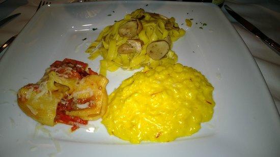Sant'Eustorgio: Pasta Course