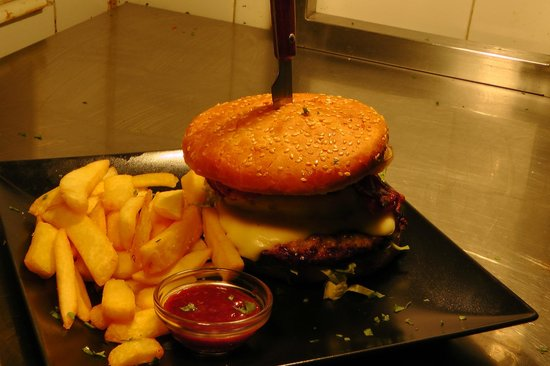 The grill house: burger