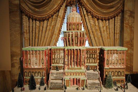 Willard InterContinental Washington: gingerbread house