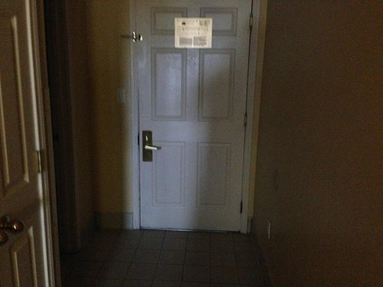 La Quinta Inn & Suites South Padre Island: Back of door