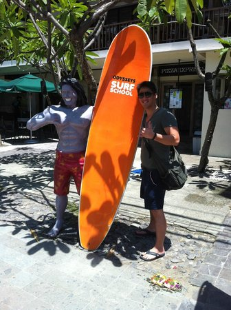 Odysseys Surf School: surfing's awesome!