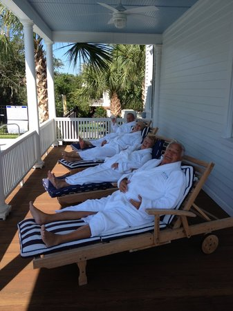 Enjoy lounging in Surf Song Robes! - Picture of Surf Song Bed & Breakfast, Tybee Island ...