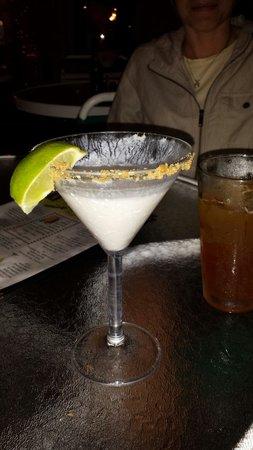Cabana Breezes: Key Lime Martini