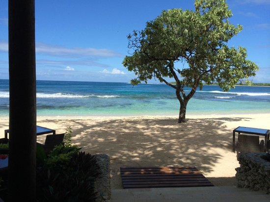 Eratap Beach Resort: View from restaurant