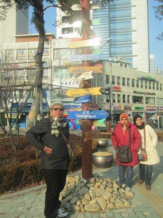 Dongdaemun Hostel: Surrounding