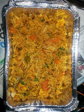Jia Indian Restaurant: Vegetable Biryani