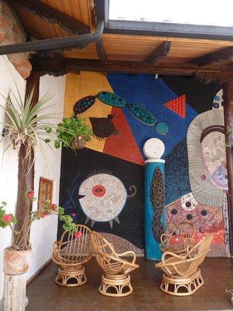 Pantavi Hosteria & Spa: art
